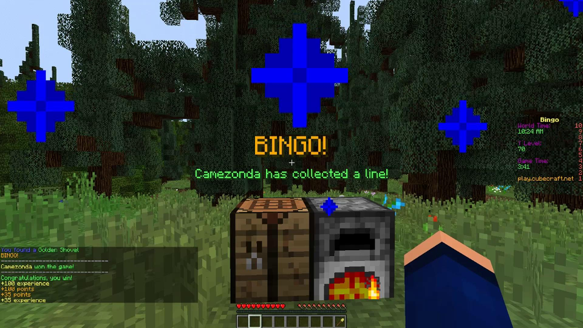 New Game: BINGO! | CubeCraft Games